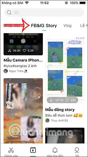 Cách tạo video hiệu ứng đăng Facebook Story - Ảnh minh hoạ 2
