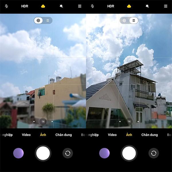Chụp ảnh Tilt-shift trên Xiaomi Redmi 10