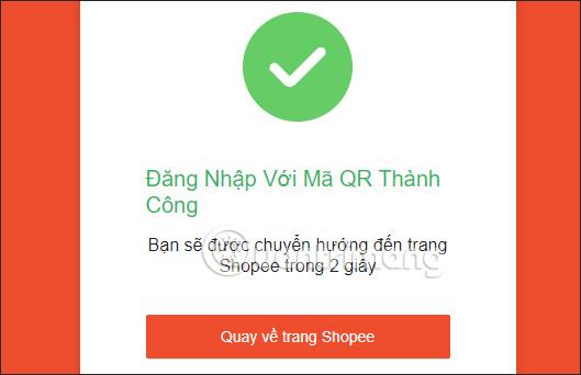 Đăng nhập Shopee trên PC