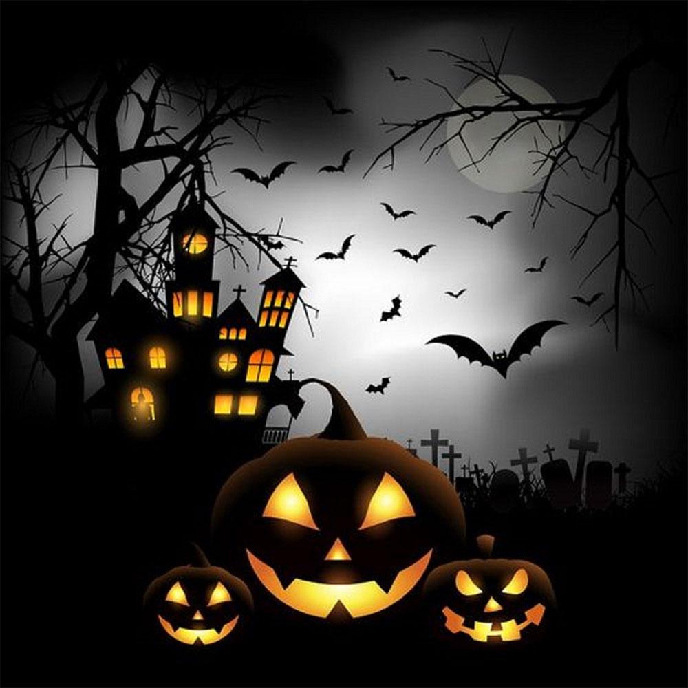 Ảnh Hallowen đáng sợ.