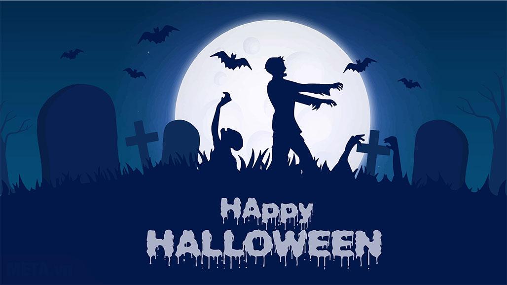 Background Halloween kinh dị.