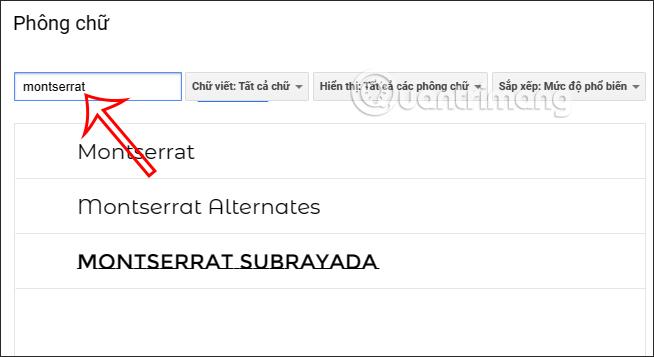 Cách cài thêm font chữ trên Google Slides - Ảnh minh hoạ 2