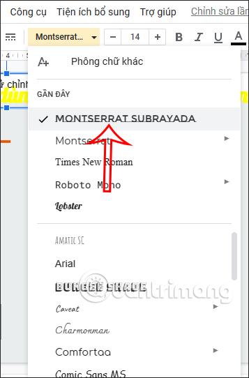 Cách cài thêm font chữ trên Google Slides - Ảnh minh hoạ 4