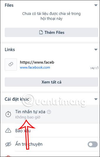 Tự xóa tin nhắn Zalo PC