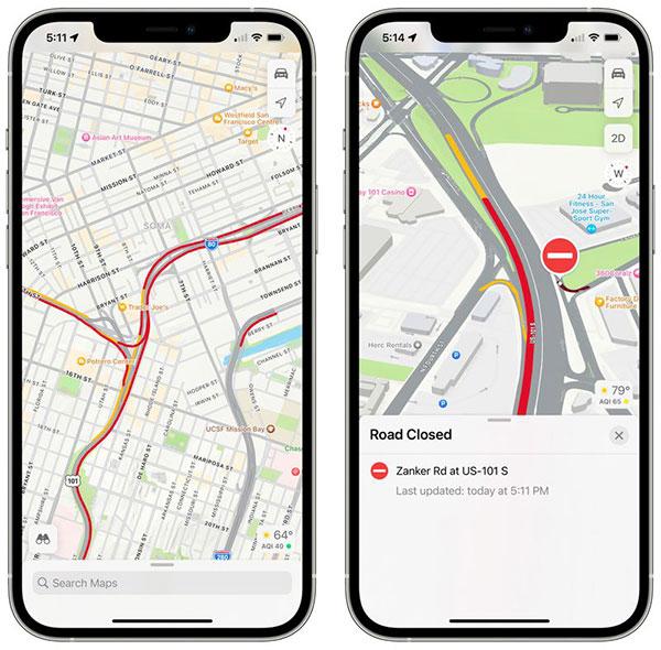 Cập nhật bản đồ lái xe