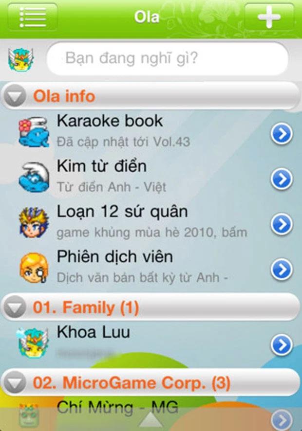 """Ola Chat, ứng dụng """"chát chít"""" từng khiến thế hệ 8X, 9X 'điên đảo'."""