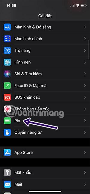 pin iphone màu vàng