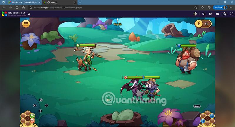 chơi game ios trên web