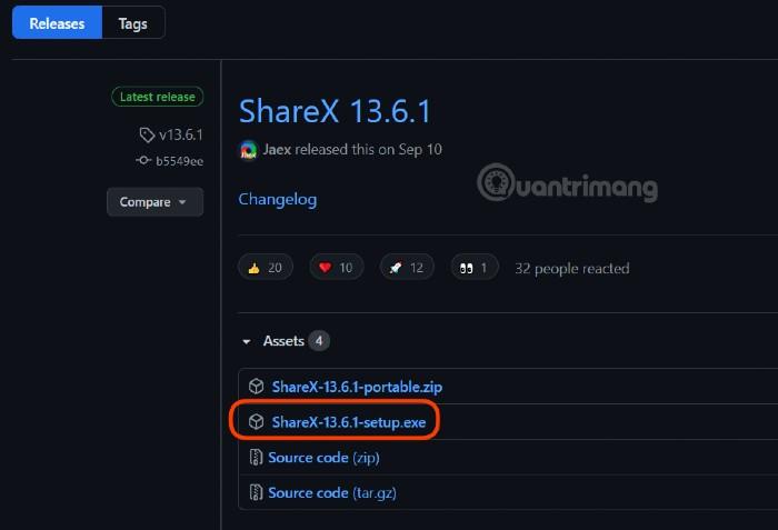 Tải ShareX