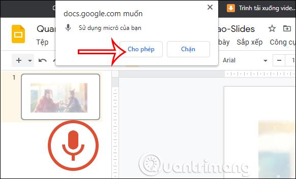 Cách nhập văn bản bằng giọng nói trong Google Slides - Ảnh minh hoạ 5