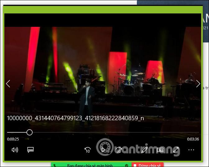 Chế độ chia sẻ video trên Zoom PC