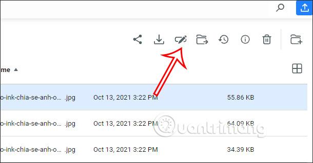 File option saved on MobiDrive