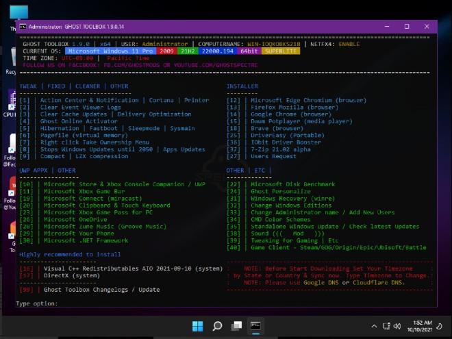 Mời tải và trải nghiệm Windows 11 SuperLite, siêu mượt, siêu nhẹ