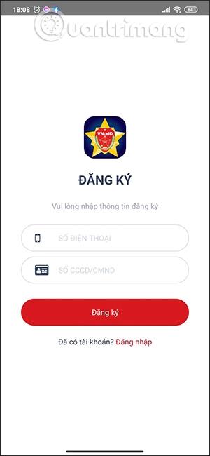 Register for a VNEID account