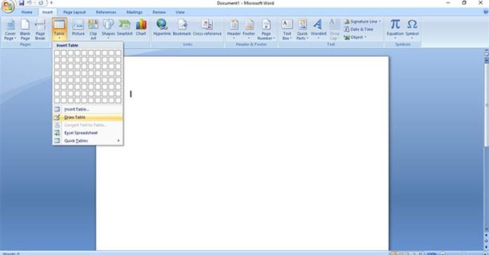 Cách sử dụng tính năng Draw Table trong Microsoft Word