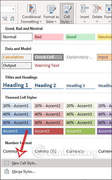 Cách tạo viền ô tùy chỉnh trong Excel